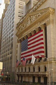 United States, New York, Manhattan, Wall Steet