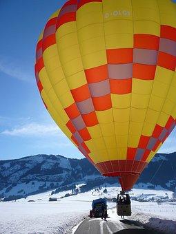 Hot, Air, Balloon, Flight, Hot Air Balloon Ride
