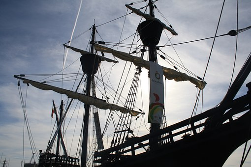 Galleon, Boat, Browse
