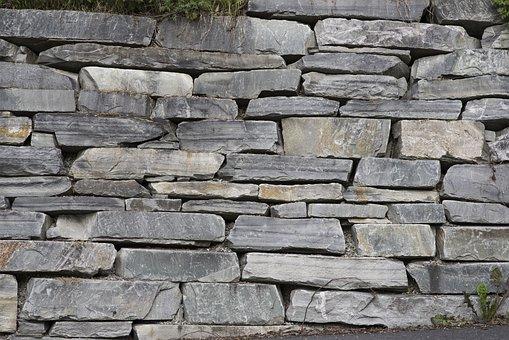 Stone Wall, Carved Stone, Wall, Hewn Stone Wall, Carved