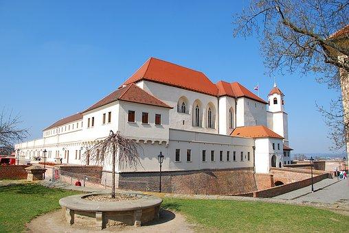 Fortress, Brno, Castle, Spilberk