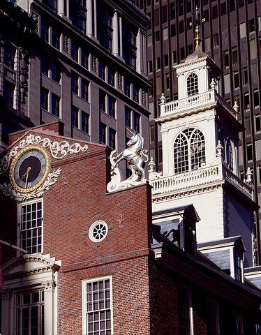 Old Statehouse, Boston, Massachusetts, City, Cities