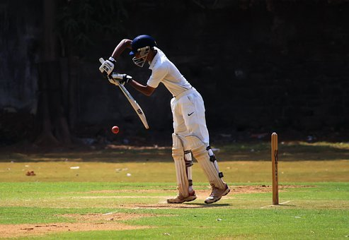 Cricket, Defense, Batting, Defensive, Batsman, Player