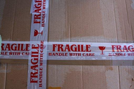 Carton, Fragile, Fragile Cardboard, Packaging, Package