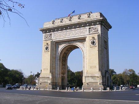 Arch, Bucharest, History, Triumph, Triumphal
