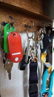 Keys, Key Cabinets, Red, Green