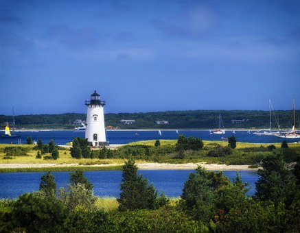 Edgartown Light Station, Massachusetts, Landscape