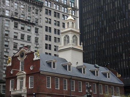 Boston, Old State House, Massachusetts, Freedom Trail
