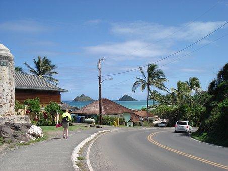 Oahu, Beach, Ocean, Hawaiian, Sea, Travel, Vacation