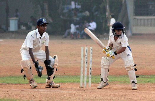 Cricket, Sports, View, Close, Stumps, Bat, Pitch