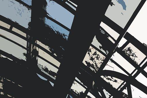 Grunge, Background, Pale, Sad, Black, Blue, Beige, Gray