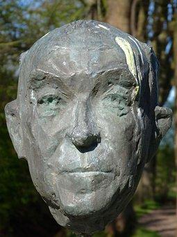 Jacobus Cornelius Bloem, Sculpture, Statue, Protrait