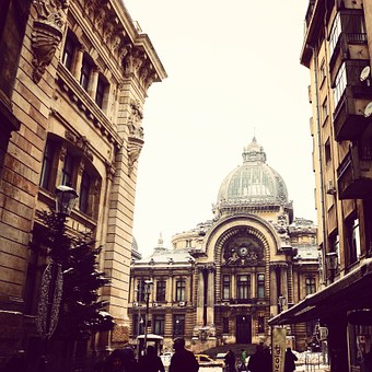 Streets, Facade, Bucharest, Town Centre