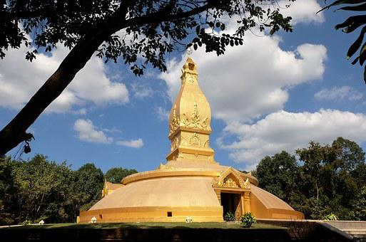 Thailand, Ubonratchathani, Monastery, Buddhist