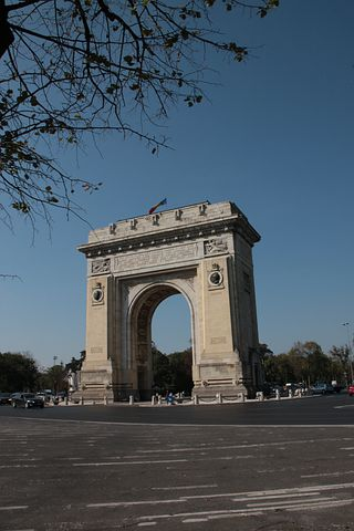 Arch, Triumph, Bucharest, Romania, Architecture