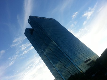 Building, Architecture, Fifth Third Bank, Urban