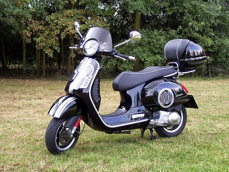 Vespa Gts 300, Cycle, Motorcycle, Scooter