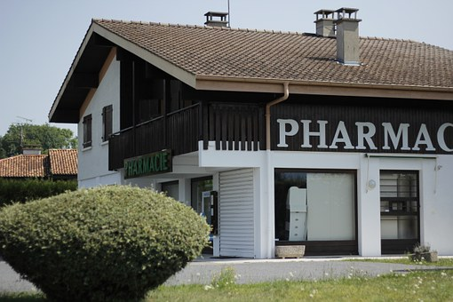 Pharmacy, Chalet, House, Traditional, Landscape, Wooden