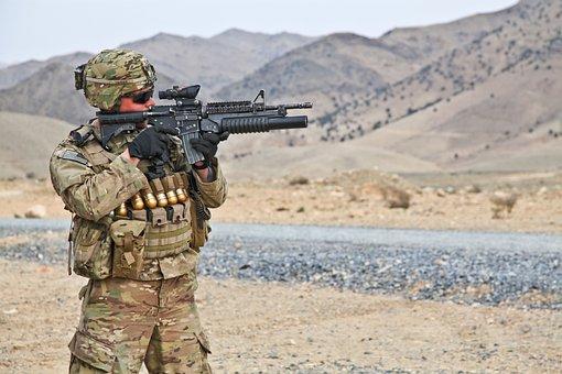 Army, Weapon, Bullets, Projectile, War, Dangerous