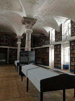 Abbey, Monastery, Library, Einsiedeln, Canton Of Schwyz