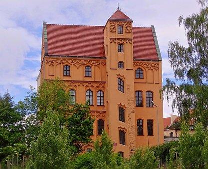 Poland, Stettin, Loitzenhof, Old Building