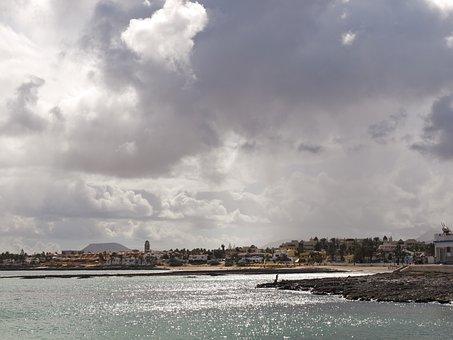Seaside, Sea, Corralejo, Fuerteventura, Ocean, Beach