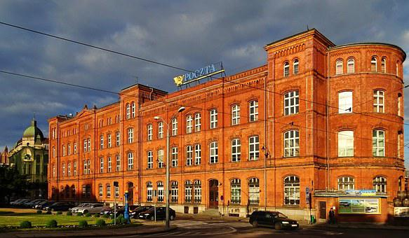 Poland, Stettin, Post