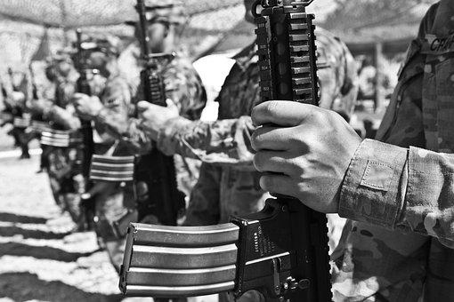 Army, Weapon, Bullets, Projectiles, War, Dangerous