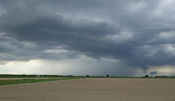Storm, Rain, Fields, Weather, Thunderstorm, Cloudburst