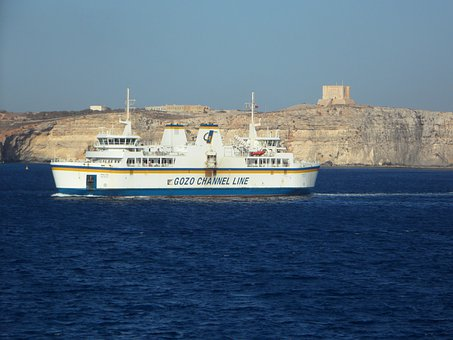 Ferry, Car Ferry, Shipping, Transport, Regular Services