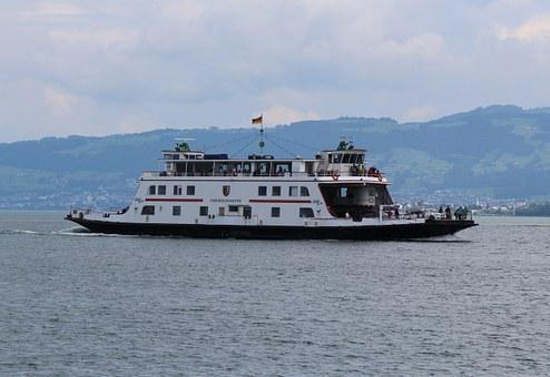 Ferry, Lake Constance, Car Ferry, Friedrichshafen