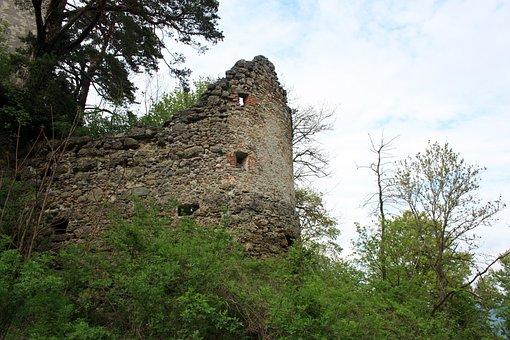 Castle, Ruin, Burgruine, Bodanrück, Building