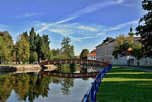 Czech Budejovice, South Bohemia, Billabong