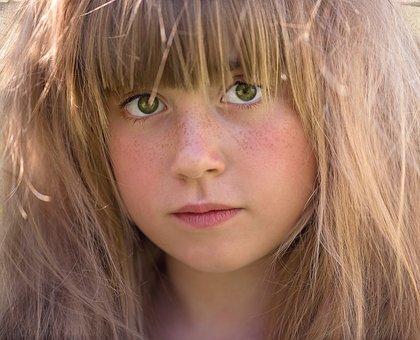 Person, Human, Female, Girl, Face, Hair, Portrait