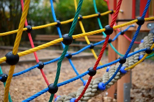 Network, Playground, Game Device, Children's Playground