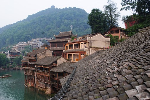 Tourism, Hunan, History, China, Fenghuang, Ink