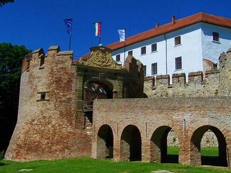 Castle, Siklós, Hungary