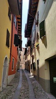 Village, Italy, Alley, Summer, Cividale Del Friuli