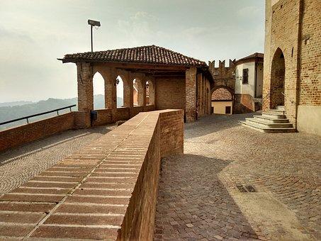 Castle, Medieval Village, Roero