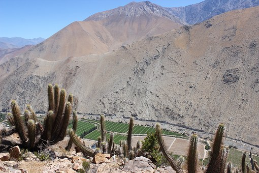 Mountain, Chile, Elqui, Paihuano