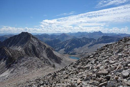 Mountains, Colorado, Fourteener, Landscape, Scenery