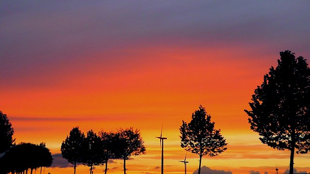 Summer Evening, Atmosphere, Evening, Twilight, Sky