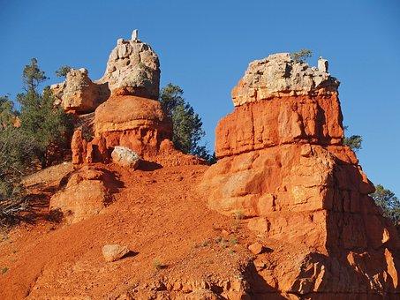 Red, Rocks, Dixie Forest National Park, Utah, Usa