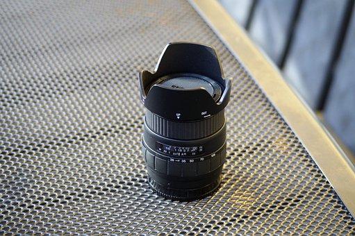 Lens, Minolta, Sony, Sigma, Zoom