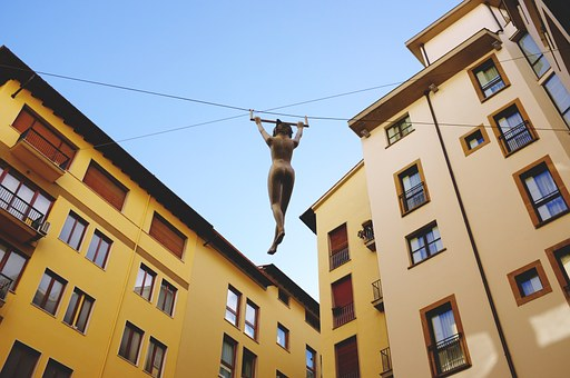 Sculpture, Aerial Gymnasts, Sports, Art, Florence
