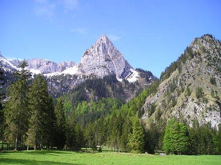 Mountains, Alpine, Geiselstein, Oberammergau Alpine