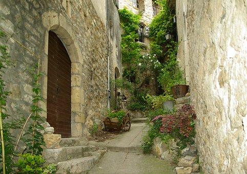 Cévennes, Lane, Medieval Village, Arcade