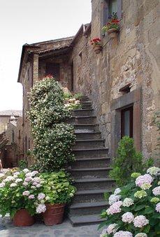 Civita Di Bagnoregio, Italy, Architecture, Building