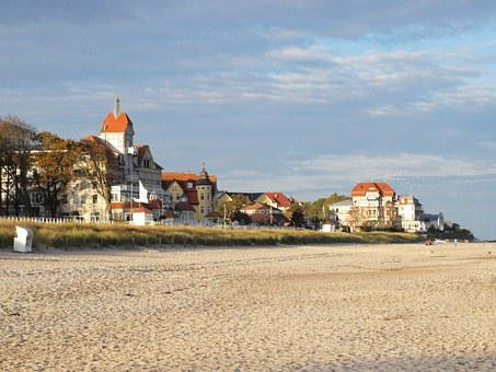 Kühlungsborn West, Baltic Sea, Baltic Sea Coast, Beach