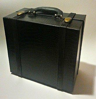 Small Black Suitcase, Travel, Case, Suitcase, Luggage